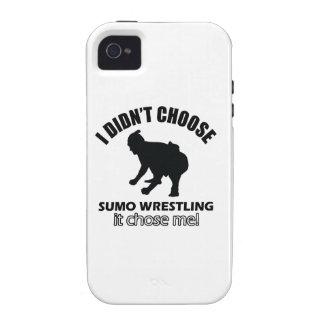 sumo wrestle design vibe iPhone 4 case