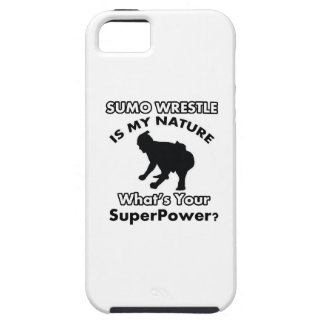 sumo wrestle design tough iPhone 5 case