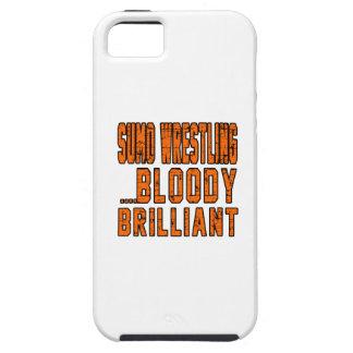 Sumo Wrestling Bloody Brilliant iPhone 5/5S Case