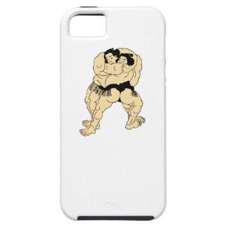 Sumo Wrestling iPhone 5 Case