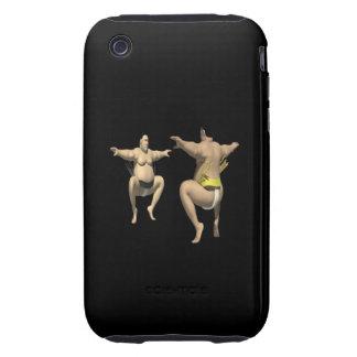 Sumo Wrestling Tough iPhone 3 Cover