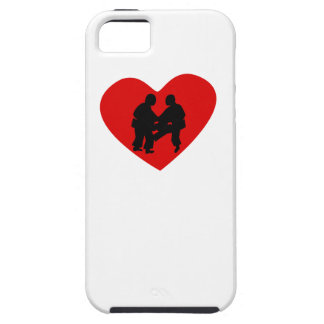 Sumo Wrestling Heart iPhone 5 Cover