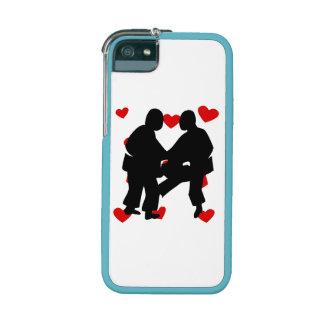 Sumo Wrestling Hearts iPhone 5/5S Cases