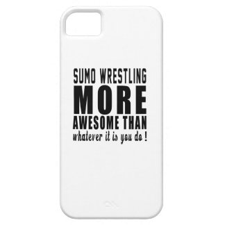 Sumo Wrestling more awesome than whatever it is yo iPhone 5 Cover