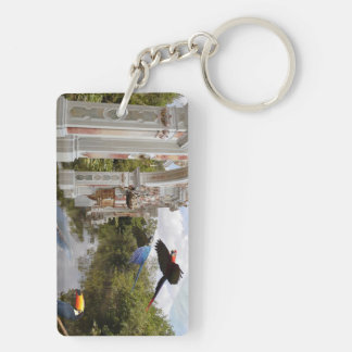 Sump temple, Swamp Temple Double-Sided Rectangular Acrylic Key Ring