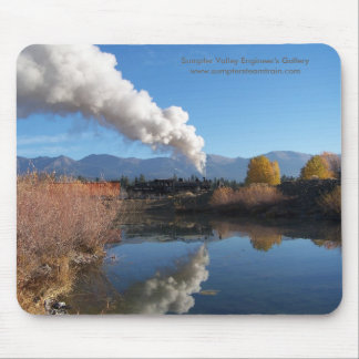 Sumpter Valley Pond Reflection Mousepad