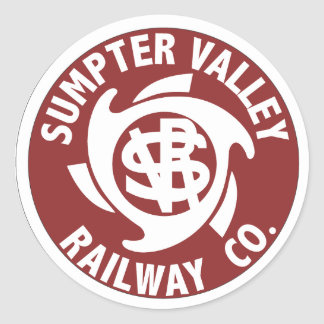 Sumpter Valley Railroad Stickers