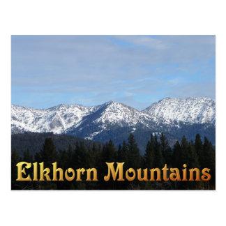 Sumpter's Elkhorn Mountains Postcard