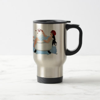 Sumptuous Sarah Stainless Steel Travel Mug