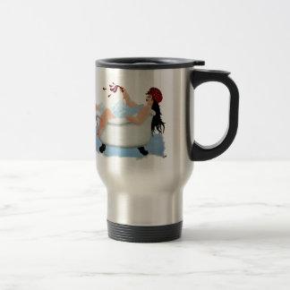 Sumptuous Sarah Stainless Steel Travel Mug