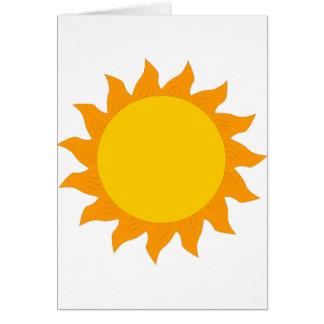 sun[1] greeting card
