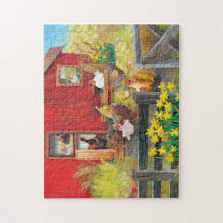 SUN ABOVE AND BLOOMS BELOW JIGSAW PUZZLE