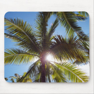 Sun across Palms Mouse Mat