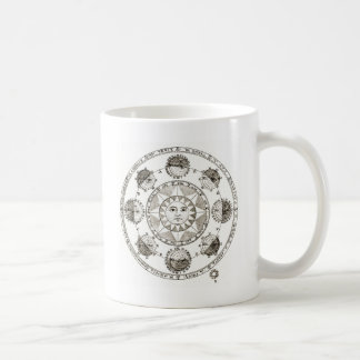 Sun and Astrology Coffee Mug