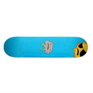 Sun and Cloud Deck Skateboard Decks