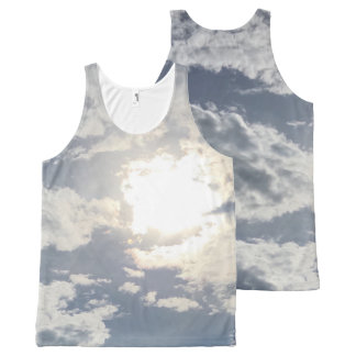 Sun and Clouds Tank
