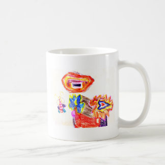 Sun and Flower1 jGibney The MUSEUM Artist Series K Basic White Mug