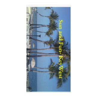Sun and Fun Key West Photo Card Template