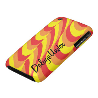 Sun and Lava Confusion iPhone 3 Case-Mate Cases