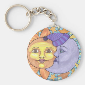 Sun and Moon 1 Key Ring