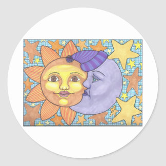 Sun and Moon 1 Stickers