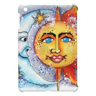 Sun and Moon Design Cover For The iPad Mini