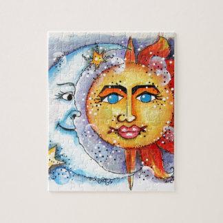 Sun and Moon Design Jigsaw Puzzle
