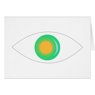 Sun and Moon Eye Greeting Card