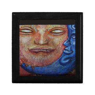 Sun and Moon Face Graffiti Gift Box