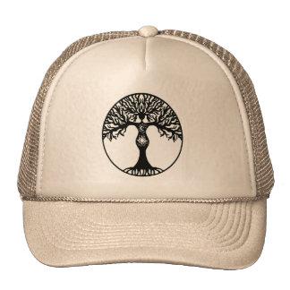 Sun and Moon Goddess Tree Cap