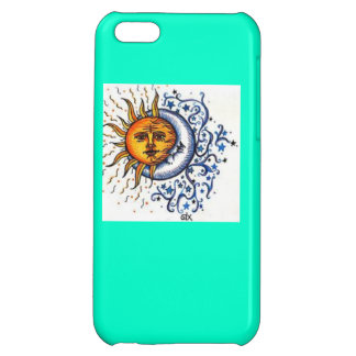 Sun and Moon iPhone 5C Cover