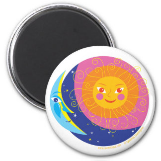 Sun and Moon Magnet
