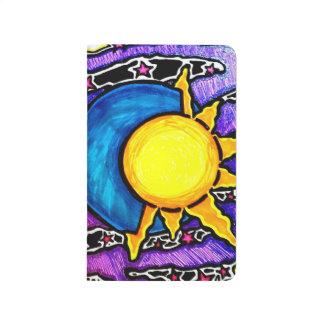 Sun and moon pocket journal