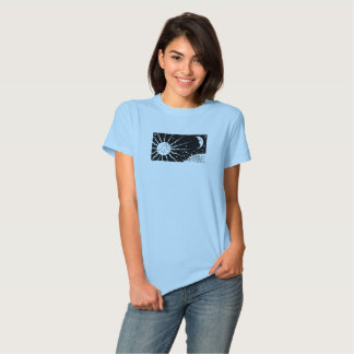 Sun and Moon Vintage Night Space Scene T Shirts
