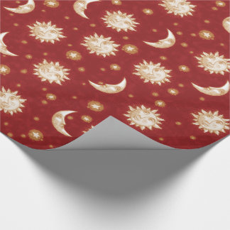 Sun and Moon Wrapping Paper