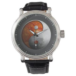 Sun and Moon Yin Yang Watch