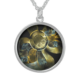 sun and more water sterling silver necklace