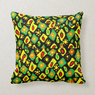 Sun and peppers cushion