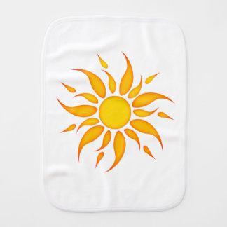 Sun Baby Burp Cloth