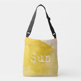 SUN Bathed Yellow Watercolor Tote Bag