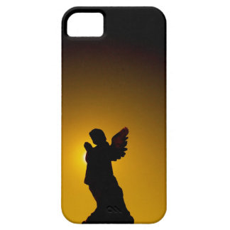 Sun Bathing Angel Silhouette iPhone 5 Case