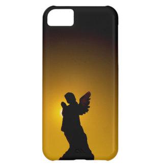 Sun Bathing Angel Silhouette iPhone 5C Case