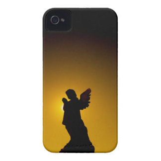 Sun Bathing Angel Silhouette iPhone 4 Case-Mate Cases
