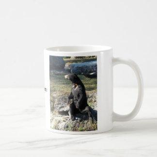 Sun Bear at the Zoo Basic White Mug