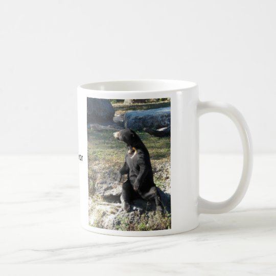 Sun Bear at the Zoo Coffee Mug