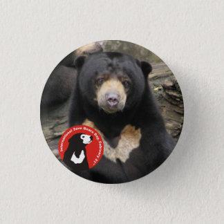 Sun Bear ISBD 3 Cm Round Badge