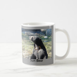 Sun Bear Coffee Mugs