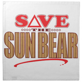 Sun Bear Save Napkin
