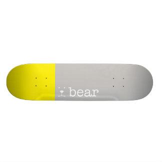 sun bear. skate board decks