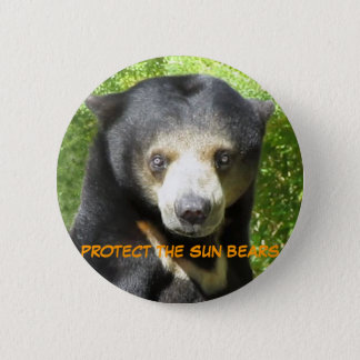 Sun Bear Ting Ting Button